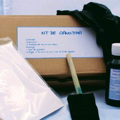 Kit cianotipia, haz fotos con la luz solar